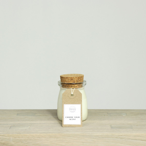 Milk Pudding Pieces for Places Scented Candle