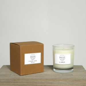 Large Pieces for Places Scented Candle