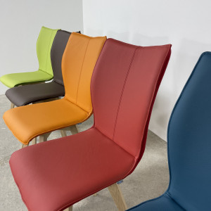 Whirl Chair, Leather Front