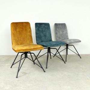 Laura Swivel Dining Chair