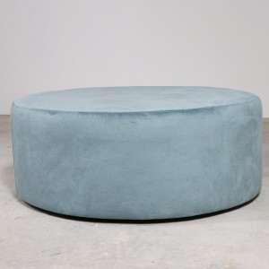 Breeze Pouffe Pastel Blue