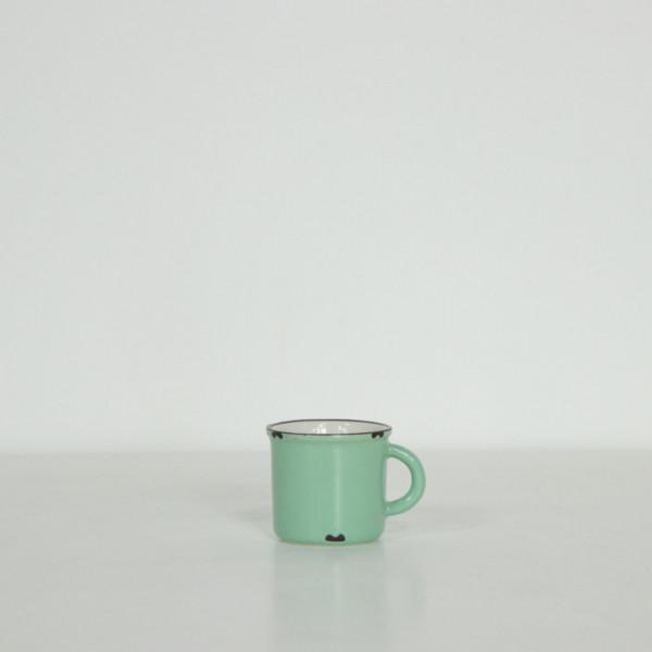 Tinware Enamel Look Espresso Mug