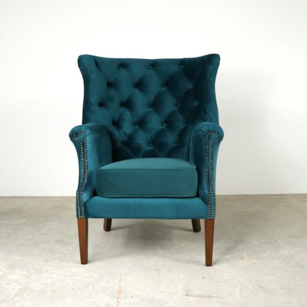 Croydon Wing Chair Teal