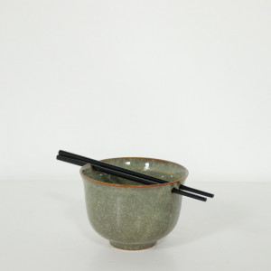 Noodle Bowl with Chopsticks