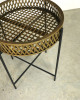 Rattan Lamp Table