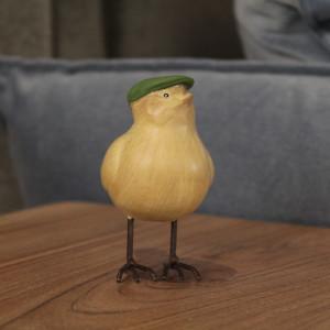 Bird with Hat