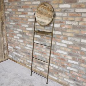 Bronze Mirror Stand