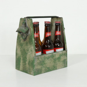 Industrial Bottle Holder with Opener
