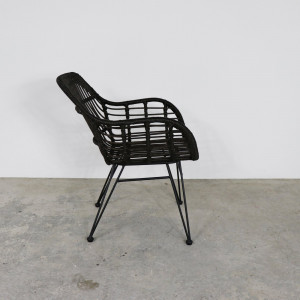 Rattan Chair Dark