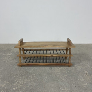 Shoe Storage Bench with Handles