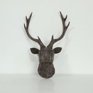 Wall Mounted Stag Head Ornament