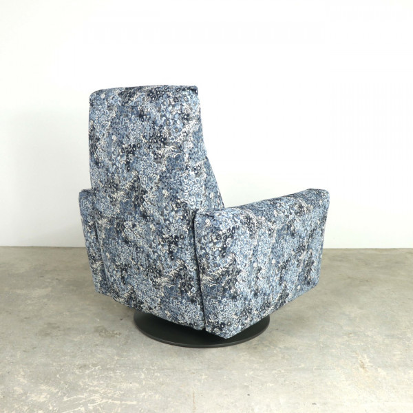 Jazz Swivel Recliner Chair Floral