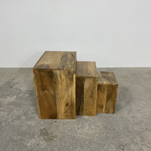 Mango Cube Nest of Tables