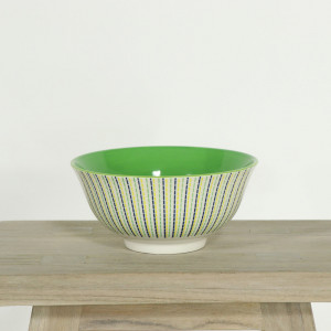 Glazed Bowl Moroccan Mint