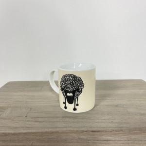Porcelain Sheep Espresso Cup