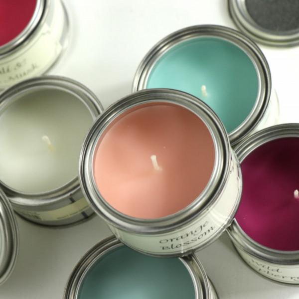 Paint Tin Candles