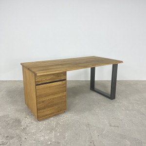 European Oak Office Desk