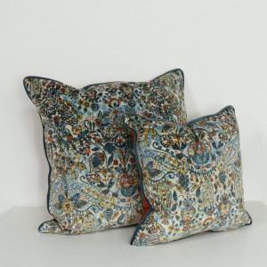 Porto Teal Cushion