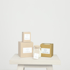 Medium Pieces for Places Scented Candle