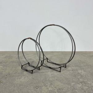 Metal Ring Log Holder