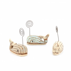 Assorted Whale Placecard Holder