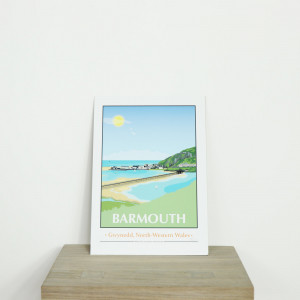 Exclusive Retro Barmouth Print