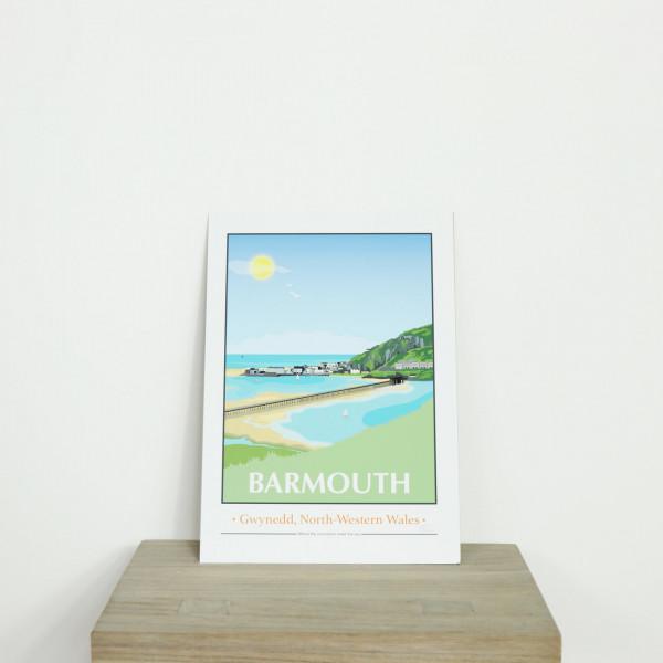 Exclusive Retro Barmouth Print