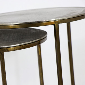 Faroe Nest of Tables Silver