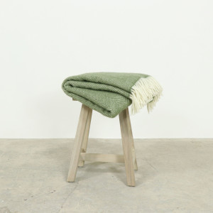 Herringbone Throw Olive