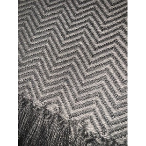 Tabby Herringbone Recycled Plastic Throw