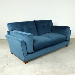 Lounge Medium Sofa in Sapphire