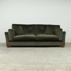 Lounge Extra Large Sofa in Chocolate