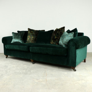 Odyssey Grand Split in Emerald with Contrast Scatters