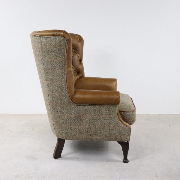 Wingback Occasional Chair Fast Track